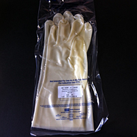 Cleanroom Nitrile 15mil White (in bag)