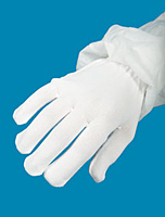 Glove Liners Full Finger White